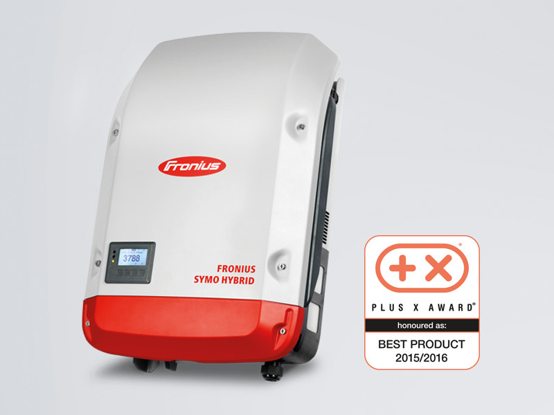 "The Fronius Symo Hybrid was crowned ""Best Product of 2015/2016"" in the ""Energy and Lighting"" category."