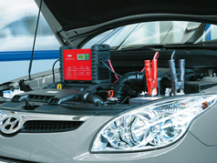 Battery care as customer service and to retain satisfaction with the vehicle make