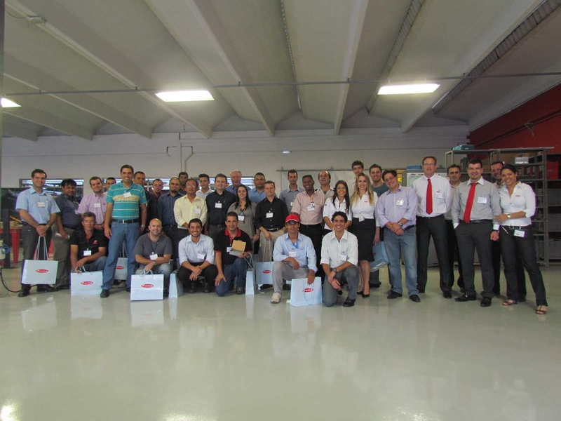 """Intralogistics day"" at Fronius do Brasil a complete success"