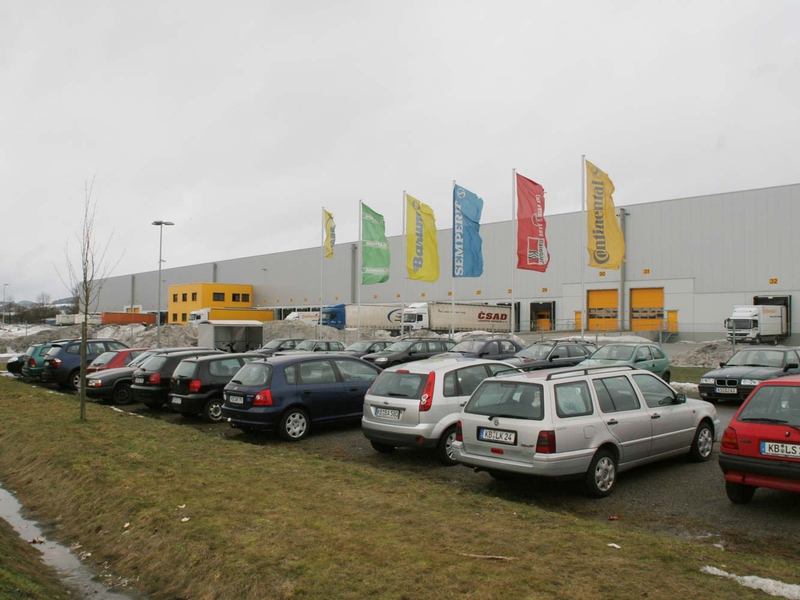 Honold Logistics Group's vehicle tyre distribution centre in Korbach