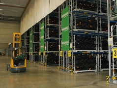 Korbach RDC uses a large number of electric forklift trucks