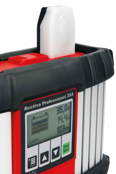 Acctiva Professional 35A with charging status indication