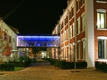 Fronius site Wels (by night)