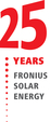 25 years Fronius Solar Energy