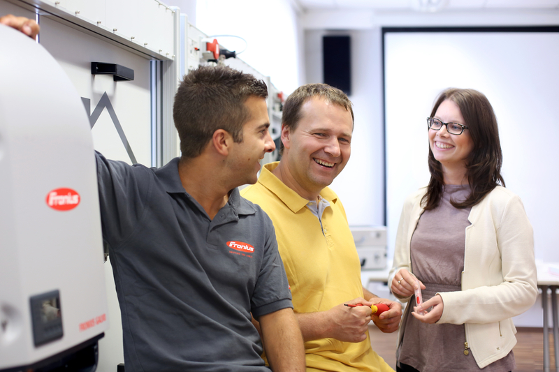 Fronius Service Partner Qualification Training