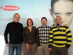 Fronius Team in Italy