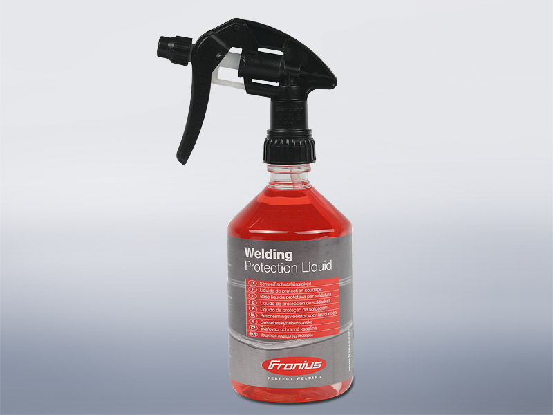Welding protection liquid