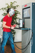 Fronius Virtual Welding - Welding position PF
