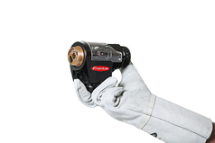 The new Robacta Drive TPS/i push-pull robot welding torch from Fronius boasts an extremely compact design and high cost-effectiveness.