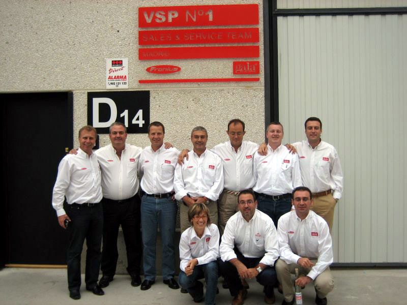 Galagar: First VSP-Team in Madrid