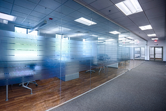 Spacious offices