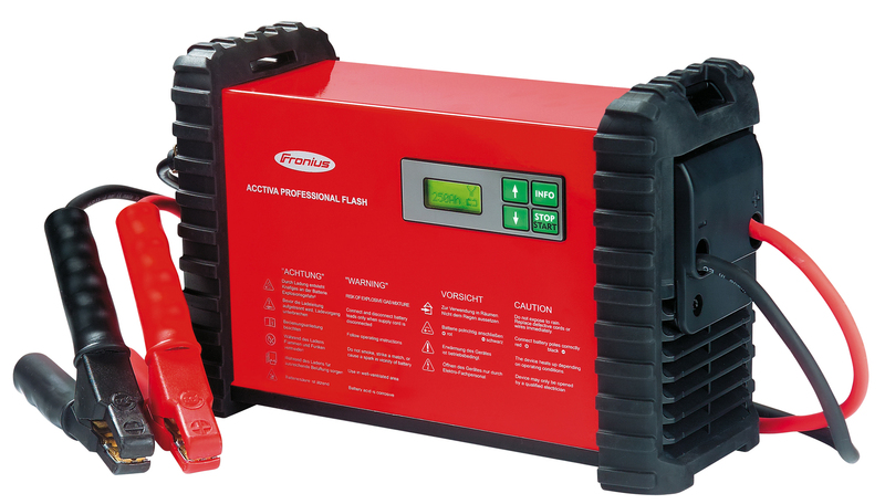 Acctiva battery chargers are suitable for all battery technologies currently on the market, including sensitive AGM and EFB batteries.