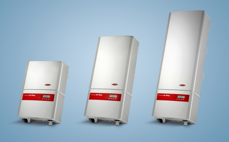 The Smart Grid demonstration grid uses Fronius IG Plus series inverters exclusively.