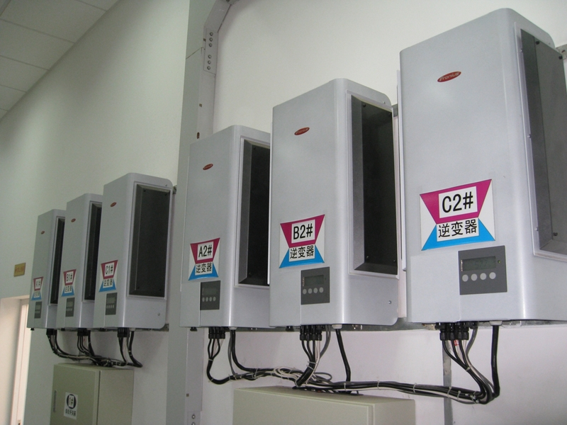 The PV system in Chongming has 18 Fronius IG 500, seven Fronius IG 400, three Fronius IG 40 and three Fronius IG 60 inverters.